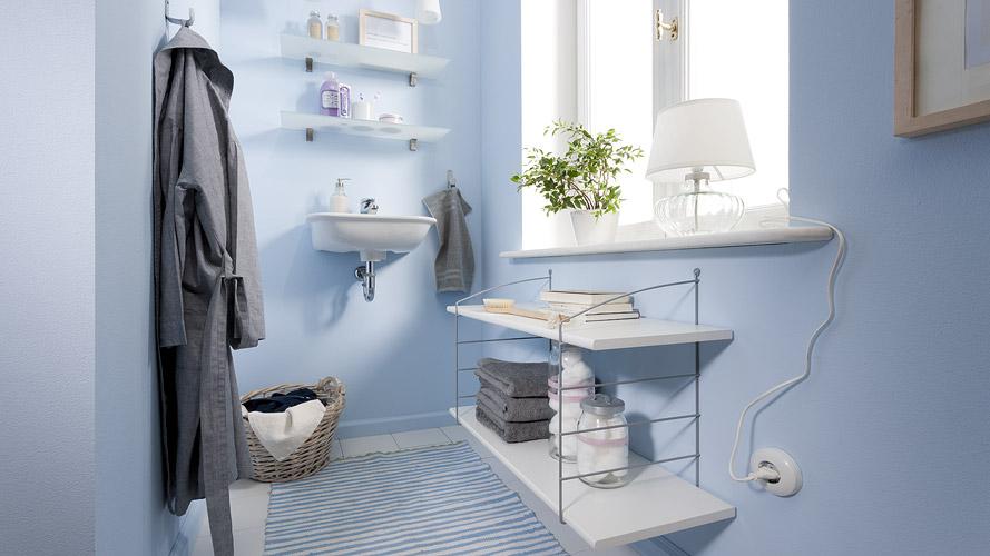 Gartenhaus Holz Werksverkauf ~ Regalsysteme für Ihr Badezimmer! Wandclips und Drahtleitern