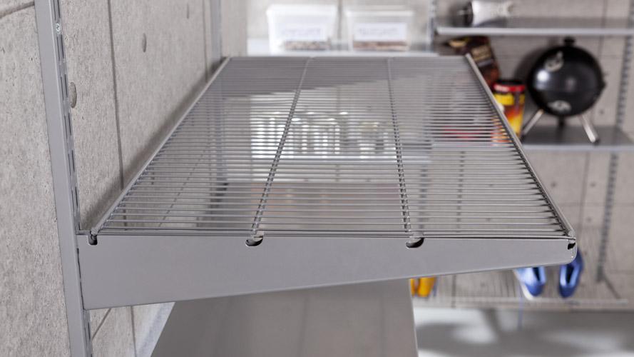 regalsystem kellerregal aus metall flexibel innovativ erweiterbar. Black Bedroom Furniture Sets. Home Design Ideas
